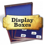 Coin Boxes and Display Cases