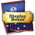National Park Quarter Display Boxes