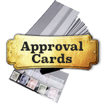 Stamp Approval Cards