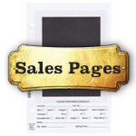 Stamp Dealer Sales Pages