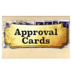 Stamp Approval and Sales Cards