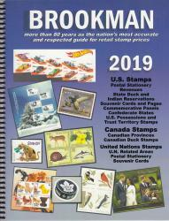 2019 Brookman US, Canada and UN Stamp Catalog