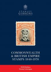 Stanley Gibbons 2020 Commonwealth & British Empire Stamp Catalogue 1840-1970