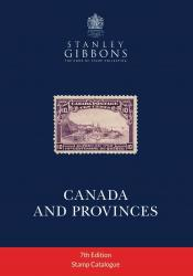 Stanley Gibbons Canada and Provinces Stamp Catalogue