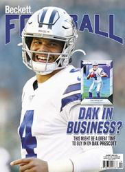 Beckett Football Monthly -- Single Issue