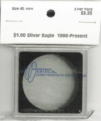 Intercept Shield 2X2 Holders 40mm (Bust Dollars, Silver Eagles)
