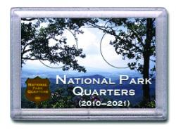 HE Harris National Park Quarters Frosty Case - Meadow - 2-hole, 2x3