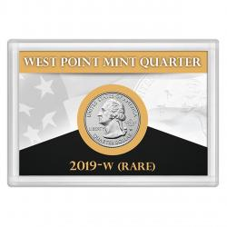 HE Harris West Point Quarter Frosty Case, 2x3