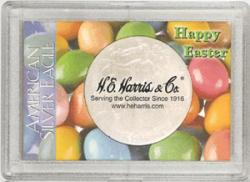 HE Harris ASE Frosty Case - Happy Easter, 2x3