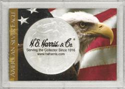 HE Harris ASE Frosty Case - Eagle and Flag, 2x3