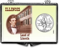 Edgar Marcus Snaplock Holder -- Illinois -- Land of Lincoln