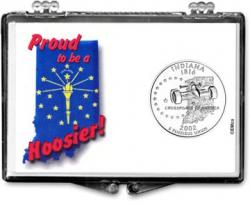 Edgar Marcus Snaplock Holder -- Indiana -- Proud To Be A Hoosier