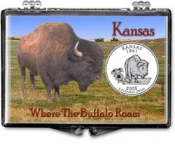Edgar Marcus Snaplock Holder -- Kansas -- Bison