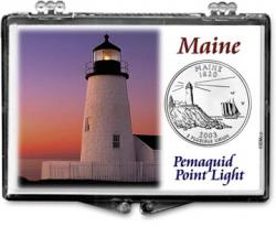 Edgar Marcus Snaplock Holder -- Maine -- Pemaquid Point Light