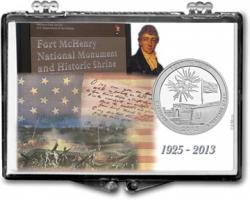 Edgar Marcus Snaplock Holder -- Fort McHenry National Monument and Historic Shrine