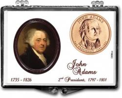 Edgar Marcus Snaplock Holder -- John Adams