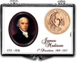 Edgar Marcus Snaplock Holder -- James Madison