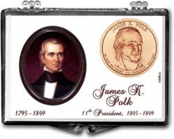 Edgar Marcus Snaplock Holder -- James K. Polk