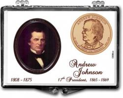 Edgar Marcus Snaplock Holder -- Andrew Johnson