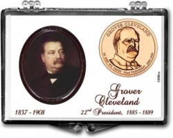 Edgar Marcus Snaplock Holder -- Grover Cleveland