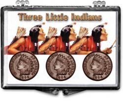 Edgar Marcus Snaplock Holder -- 3 Little Indians -- Braves