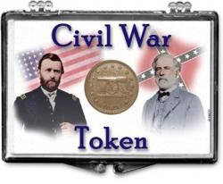 Edgar Marcus Snaplock Holder -- Civil War Token -- Generals