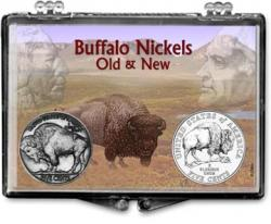 Edgar Marcus Snaplock Holder -- Buffalo Nickels Old and New
