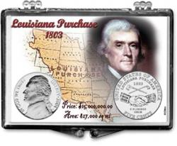Edgar Marcus Snaplock Holder -- Jefferson -- 2004 Louisiana Purchase