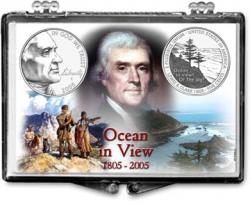Edgar Marcus Snaplock Holder -- Jefferson -- 2005 Ocean In View