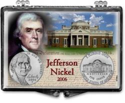 Edgar Marcus Snaplock Holder -- Jefferson -- 2006 Set of 2