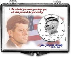 Edgar Marcus Snaplock Holder -- John F. Kennedy -- Flag