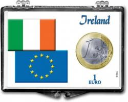 Edgar Marcus Snaplock Holder -- 1 Euro -- Ireland