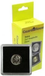 Guardhouse Tetra 2x2 Snaplocks -- Dime Size -- Pack of 10