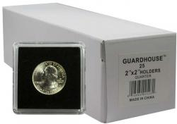 Guardhouse Tetra 2x2 Snaplocks -- Quarter Size -- Box of 25 -- Box of 25
