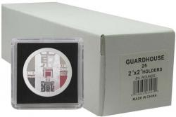 Guardhouse Tetra 2x2 Snaplocks -- Silver Round Size -- Box of 25 -- Box of 25