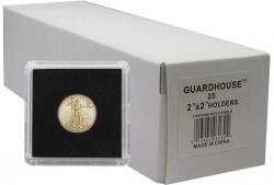 Guardhouse Tetra 2x2 Snaplocks -- 1/10 oz Gold Eagle Size -- Box of 25 -- Box of 25