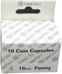 Coin Safe Capsule - Cent Size - 10 pack