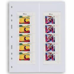 Lighthouse Grande Archival 2 Pocket (Roll Stamp) Pages - Pack of 5 -- Clear