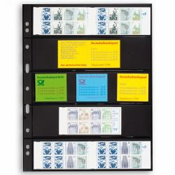 Lighthouse Grande Archival 5 Row (Stamp/Booklet) Pages - Pack of 5 -- Black