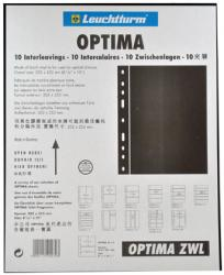 Lighthouse Optima XL Pages - Black Interleaves - Pack of 10