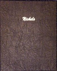 Dansco Album 7117: Nickels Plain - 4 Blank Pages / 140 Ports