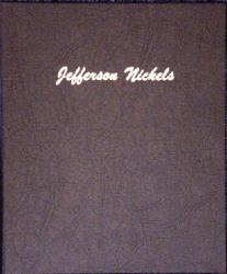 Dansco Album 7113: Jefferson Nickels, 1938-2005