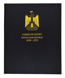 Egypt United Arab Republic Coin Album, 1958-1972
