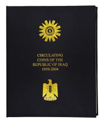 Iraq Republic Circulation Coin Album, 1959-2004