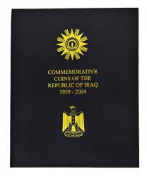 Iraq Commemorative Coin Album, 1959-2004