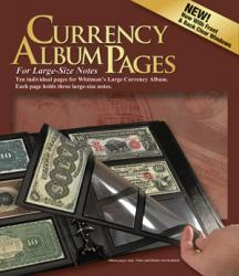 HE Harris Deluxe Currency Pages - Large Notes