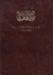 Dansco All-In-One Coin Folder: Morgan Dollars 1878-1890