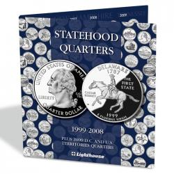 Lighthouse Statehood Quarters Folder