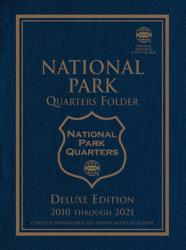 Whitman Deluxe Edition Folder: National Parks Quarters P&D