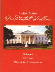 HECO Presidential Dollar P&D Folder Vol. 1 2007-2011